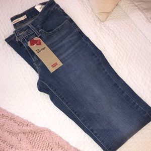 Levis 715 bootcut womens jeans size 25 long